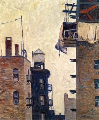 Apartment Building Allen Tucker - circa 1920